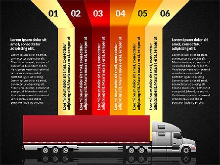Cargo Infographics, Slide 11, 03007, Infographics — PoweredTemplate.com