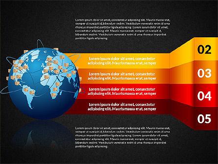 Cargo Infographics, Slide 12, 03007, Infographics — PoweredTemplate.com