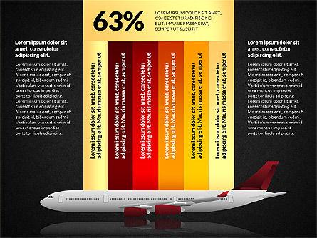 Cargo Infographics, Slide 13, 03007, Infographics — PoweredTemplate.com