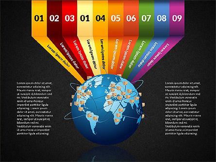 Cargo Infographics, Slide 14, 03007, Infographics — PoweredTemplate.com