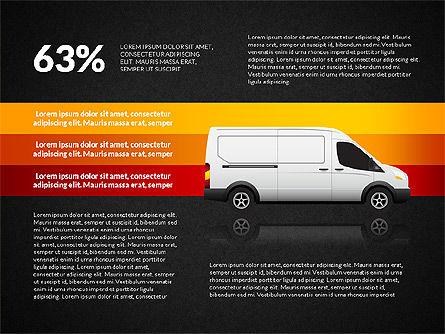 Cargo Infographics, Slide 15, 03007, Infographics — PoweredTemplate.com
