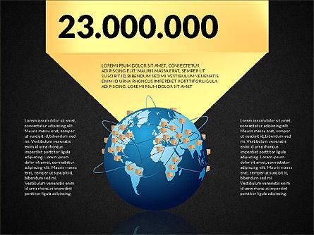 Cargo Infographics, Slide 16, 03007, Infographics — PoweredTemplate.com
