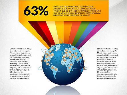 Cargo Infographics, Slide 2, 03007, Infographics — PoweredTemplate.com