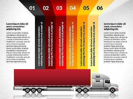 Cargo Infographics, Slide 3, 03007, Infographics — PoweredTemplate.com