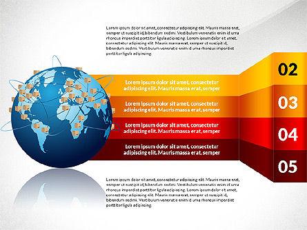 Cargo Infographics, Slide 4, 03007, Infographics — PoweredTemplate.com