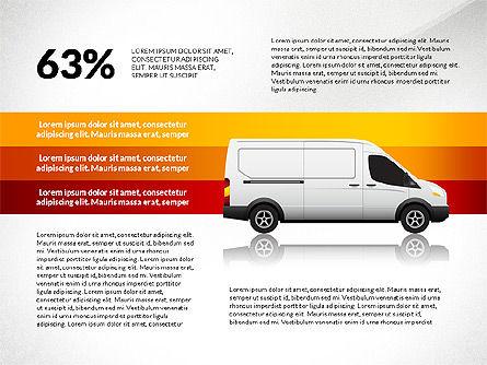 Cargo Infographics, Slide 7, 03007, Infographics — PoweredTemplate.com