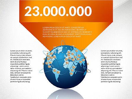 Cargo Infographics, Slide 8, 03007, Infographics — PoweredTemplate.com