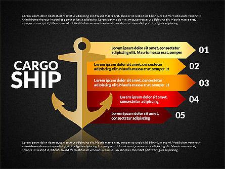 Cargo Infographics, Slide 9, 03007, Infographics — PoweredTemplate.com