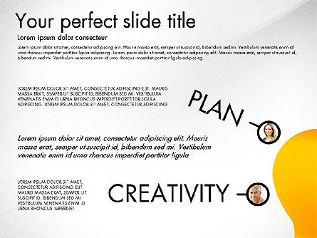 Thinking with Concepts, Slide 4, 03012, Presentation Templates — PoweredTemplate.com