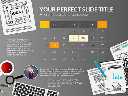Awesome Project Presentation Template, Slide 10, 03017, Presentation Templates — PoweredTemplate.com