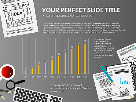 Awesome Project Presentation Template, Slide 11, 03017, Presentation Templates — PoweredTemplate.com