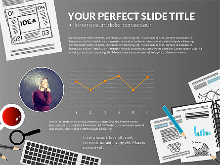 Awesome Project Presentation Template, Slide 13, 03017, Presentation Templates — PoweredTemplate.com