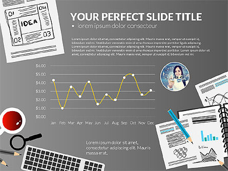 Awesome Project Presentation Template, Slide 14, 03017, Presentation Templates — PoweredTemplate.com