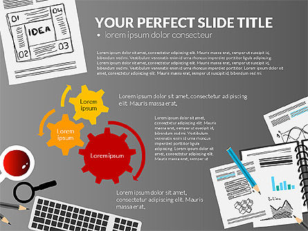 Awesome Project Presentation Template, Slide 15, 03017, Presentation Templates — PoweredTemplate.com