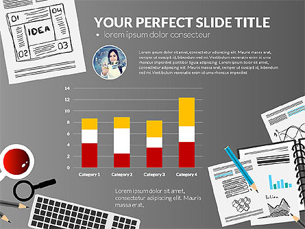 Awesome Project Presentation Template, Slide 16, 03017, Presentation Templates — PoweredTemplate.com