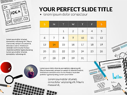 Awesome Project Presentation Template, Slide 2, 03017, Presentation Templates — PoweredTemplate.com