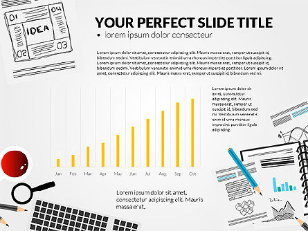 Awesome Project Presentation Template, Slide 3, 03017, Presentation Templates — PoweredTemplate.com
