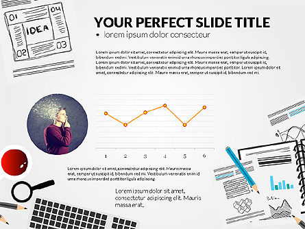 Awesome Project Presentation Template, Slide 5, 03017, Presentation Templates — PoweredTemplate.com