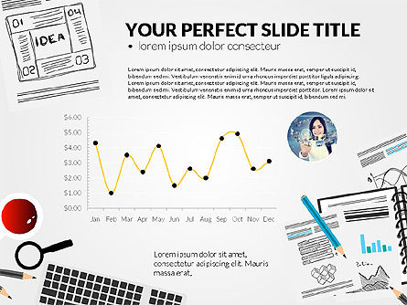 Awesome Project Presentation Template, Slide 6, 03017, Presentation Templates — PoweredTemplate.com