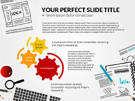 Awesome Project Presentation Template, Slide 7, 03017, Presentation Templates — PoweredTemplate.com