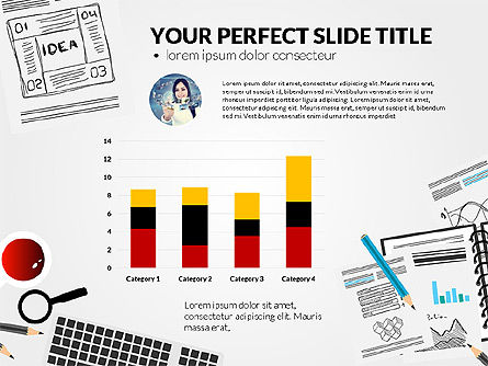 Awesome Project Presentation Template, Slide 8, 03017, Presentation Templates — PoweredTemplate.com