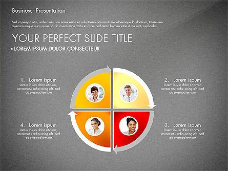 Presentation with Photos and Diagrams, Slide 10, 03018, Presentation Templates — PoweredTemplate.com