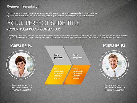 Presentation with Photos and Diagrams, Slide 11, 03018, Presentation Templates — PoweredTemplate.com
