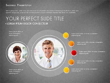 Presentation with Photos and Diagrams, Slide 12, 03018, Presentation Templates — PoweredTemplate.com