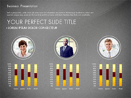 Presentation with Photos and Diagrams, Slide 13, 03018, Presentation Templates — PoweredTemplate.com