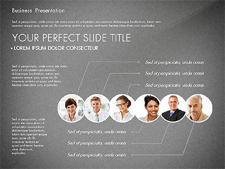Presentation with Photos and Diagrams, Slide 14, 03018, Presentation Templates — PoweredTemplate.com