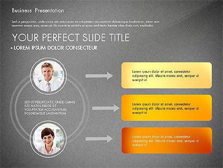Presentation with Photos and Diagrams, Slide 15, 03018, Presentation Templates — PoweredTemplate.com