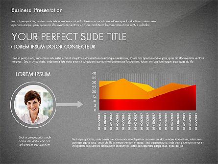 Presentation with Photos and Diagrams, Slide 16, 03018, Presentation Templates — PoweredTemplate.com