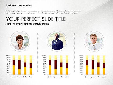 Presentation with Photos and Diagrams, Slide 5, 03018, Presentation Templates — PoweredTemplate.com