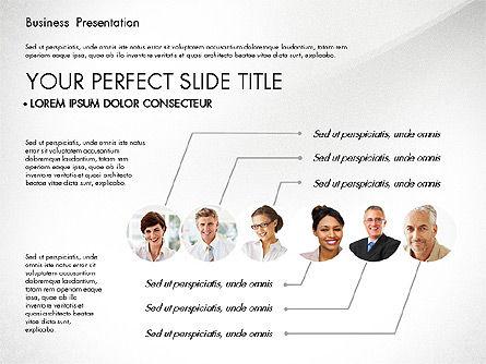 Presentation with Photos and Diagrams, Slide 6, 03018, Presentation Templates — PoweredTemplate.com