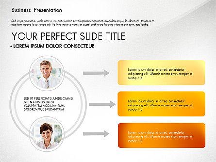 Presentation with Photos and Diagrams, Slide 7, 03018, Presentation Templates — PoweredTemplate.com