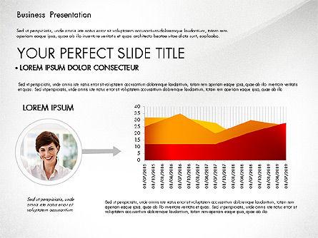 Presentation with Photos and Diagrams, Slide 8, 03018, Presentation Templates — PoweredTemplate.com