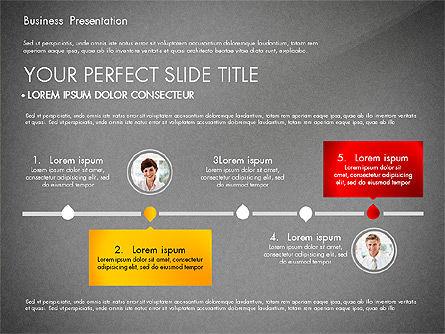 Presentation with Photos and Diagrams, Slide 9, 03018, Presentation Templates — PoweredTemplate.com