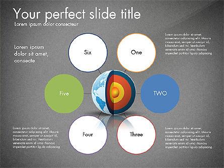 Earth Core Presentation Concept, Slide 10, 03019, Presentation Templates — PoweredTemplate.com