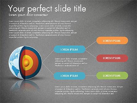 Earth Core Presentation Concept, Slide 11, 03019, Presentation Templates — PoweredTemplate.com