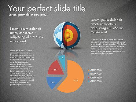 Earth Core Presentation Concept, Slide 12, 03019, Presentation Templates — PoweredTemplate.com