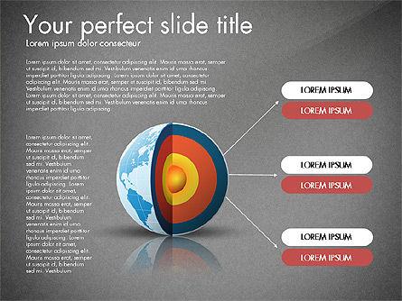 Earth Core Presentation Concept, Slide 14, 03019, Presentation Templates — PoweredTemplate.com