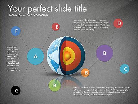 Earth Core Presentation Concept, Slide 15, 03019, Presentation Templates — PoweredTemplate.com