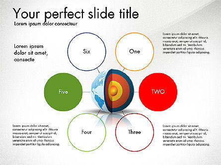 Earth Core Presentation Concept, Slide 2, 03019, Presentation Templates — PoweredTemplate.com