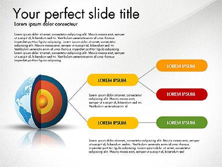 Earth Core Presentation Concept, Slide 3, 03019, Presentation Templates — PoweredTemplate.com