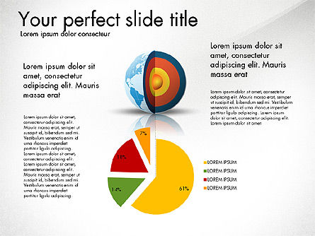 Earth Core Presentation Concept For Powerpoint Presentations