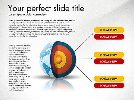 Earth Core Presentation Concept, Slide 6, 03019, Presentation Templates — PoweredTemplate.com