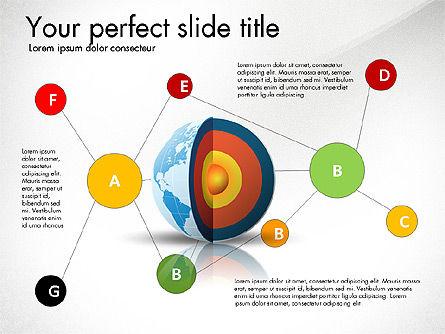 Earth Core Presentation Concept, Slide 7, 03019, Presentation Templates — PoweredTemplate.com