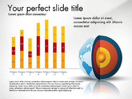 Earth Core Presentation Concept, Slide 8, 03019, Presentation Templates — PoweredTemplate.com