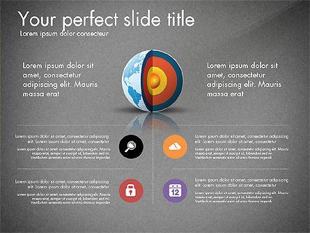 Earth Core Presentation Concept, Slide 9, 03019, Presentation Templates — PoweredTemplate.com