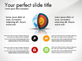 Presentation Templates: Earth Core Presentation Concept #03019